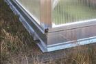 Fundament aluminiowy do szklarni F2