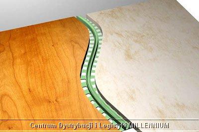 montaż listwy podłogowej STEP FLEX etap 2